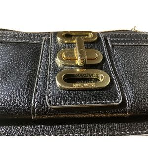 Nine West Black Wallet /  Wristlet